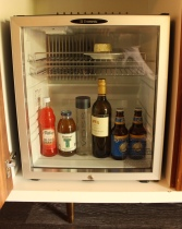 Complimentary mini-fridge @ Bernardus Lodge - Staycation - Sunscreenandplanes.com -